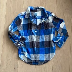 Baby Gap Flannel Lumberjack Button Down Shirt
